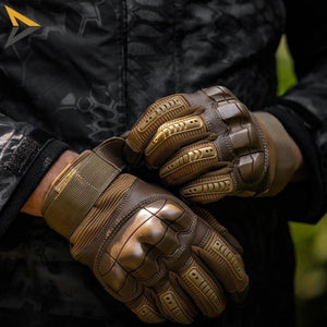 Tactical touchscreen gloves