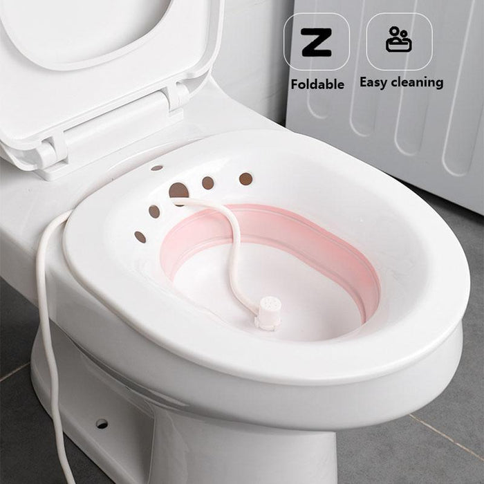 Sitting bath for the toilet