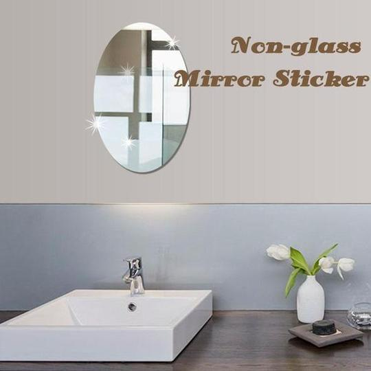 Non-glass Mirror Sticker