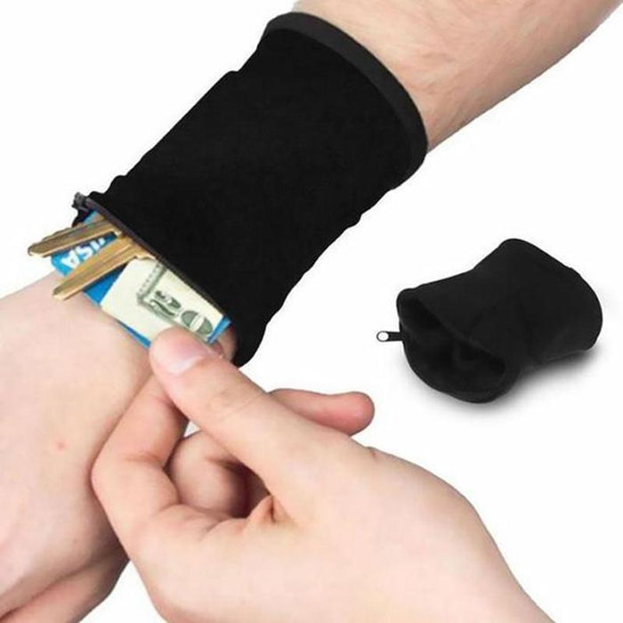 Multifunctional Sports Wrist Band Wrist Bag