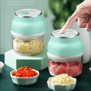 Portable Food Chopper Slicer