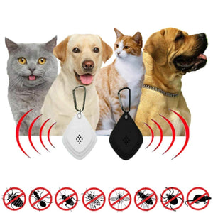 Ultrasonic Flea & Tick Repeller Chemical-free