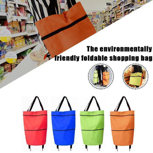 The environmentally friendly foldable shopping bag