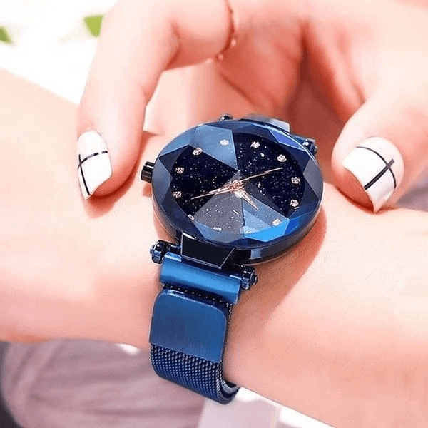 Fashion Starry Sky Ladies Watch