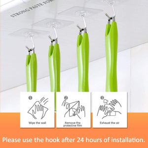 Seamless Adhesive Hook ( 10/20/30 Pcs)