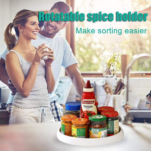Rotatable spice holder