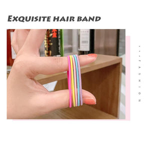 Girl hair rubber band