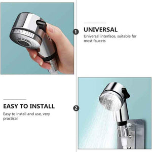 Handheld Shower Head Extender Kit for Hair Washing Pet Shower