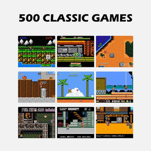 Handheld Game Console - 500 Classic Games