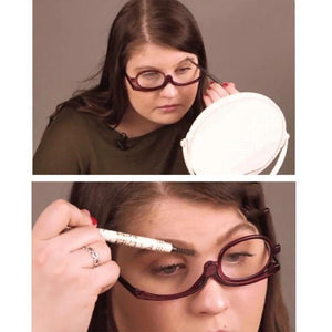 Making Up Cosmetic Reading Glasses