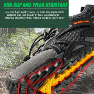 Men's Breathable Mesh Casual Light Outdoor Hiking Shoes