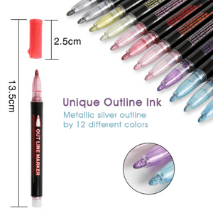 Colorful Highlight Marker Pen