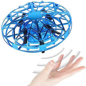 Mini UFO Drone Hand Controlled Flying Toys