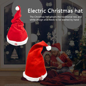 Electric Musical Christmas Hat