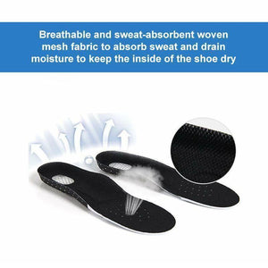 Breathable Silicone Orthopedic Insoles
