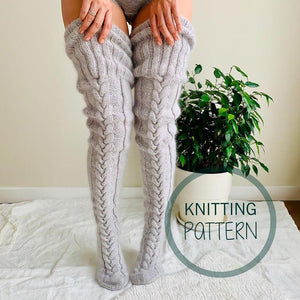 Winter Knitted Stockings