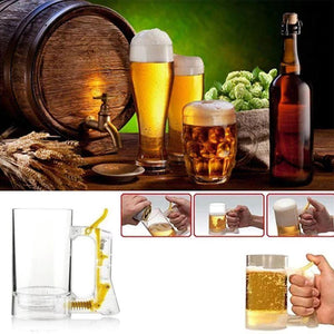 Creative Bubble Foaming Beer Mug for Party Bar