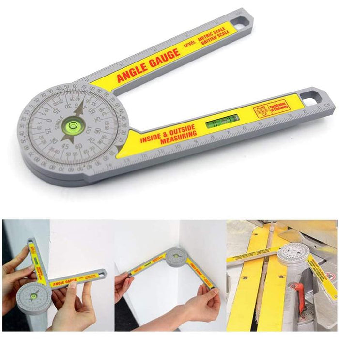 Professional 360 Degree High Accurate Angle Gauge