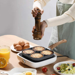 Four-Cup Frying Pan