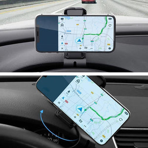 Universal dashboard phone holder(360°)
