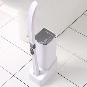 Disposable Toilet Brush With Holder
