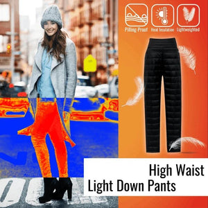 Light-weight High-Waisted Trousers