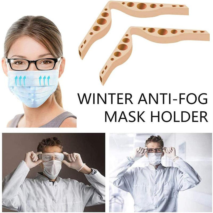 Anti-Fog Nose Bridge Prevent Glasses From Fogging