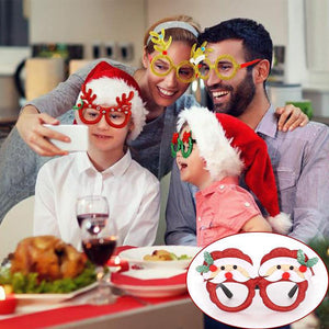 Christmas Decoration Costume Glasses Frame