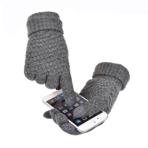 Extra-warm Touchscreen gloves