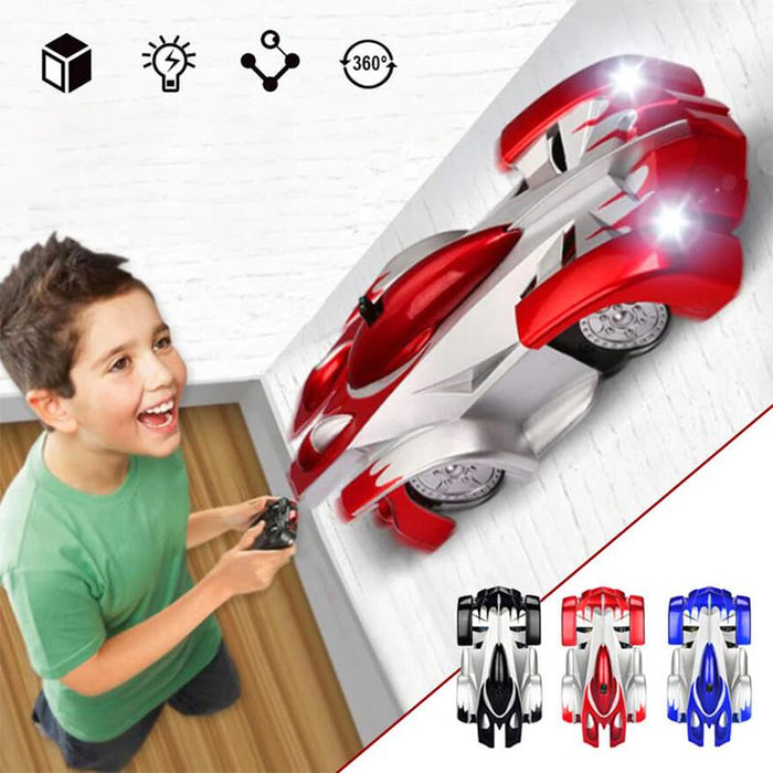 Remote Control Wall Climbing Racing Car