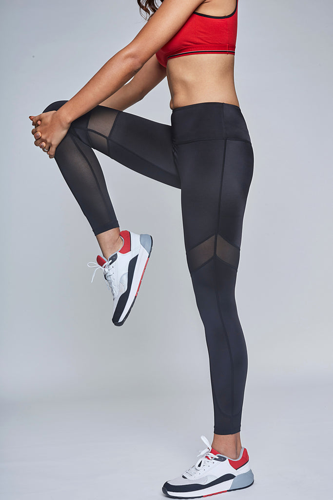 Back in Black Workout Leggings