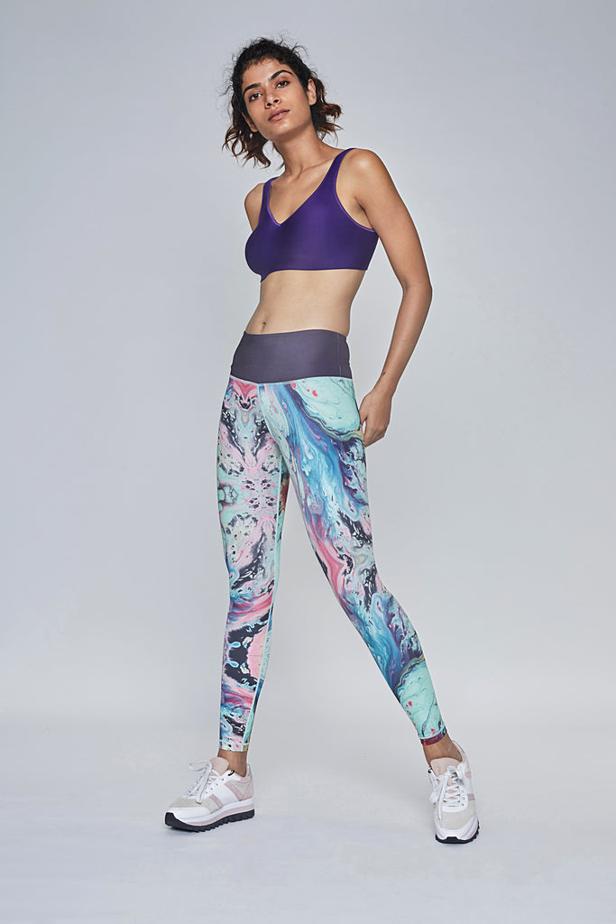 COSMOs Women's Workout Leggings