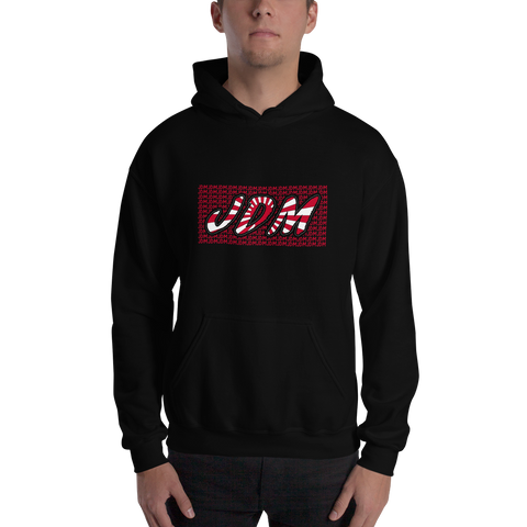 Hoodie - JDM with jdm in background