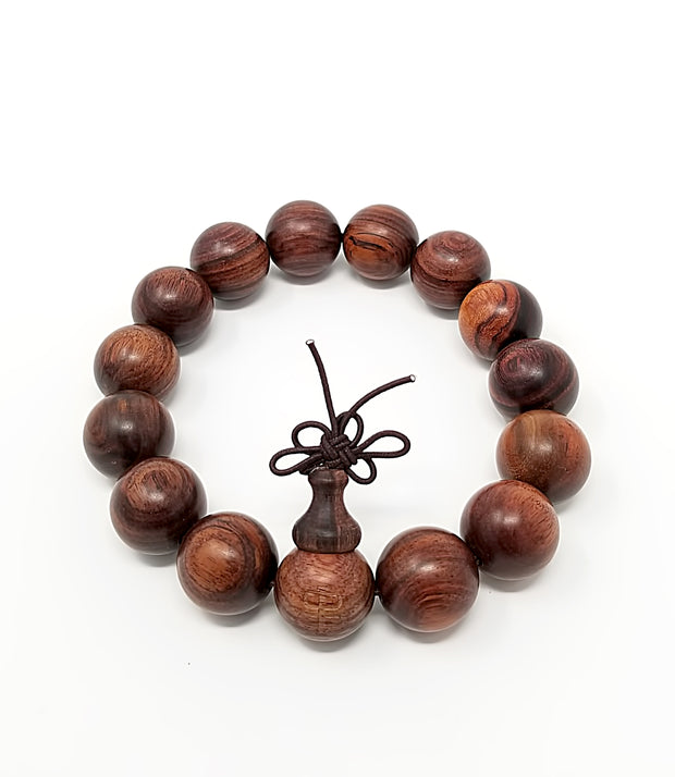 Red Sandalwood Bracelet - Buddhist bracelet