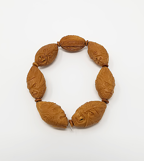 Monkey king olive nut bracelet - Buddhist bracelet