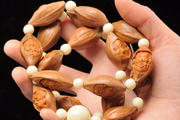 Olive nut necklace - Buddhist bracelet
