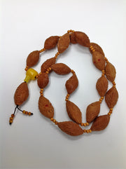 olive nut necklace - Buddhist bracelet necklace