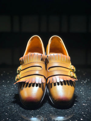 GLOWria leather shoe by SALUBATA