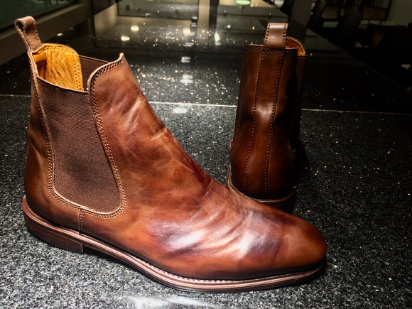 Leather boots by SALUBATA