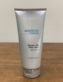 Body Lotion 15% Glycolix Elite - Avante Laser & Medispa