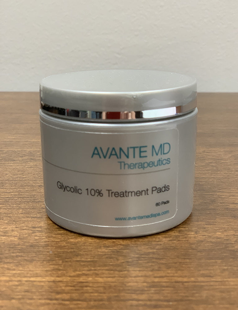 Glycolic 10% Treatment Pads - Avante The Woodlands