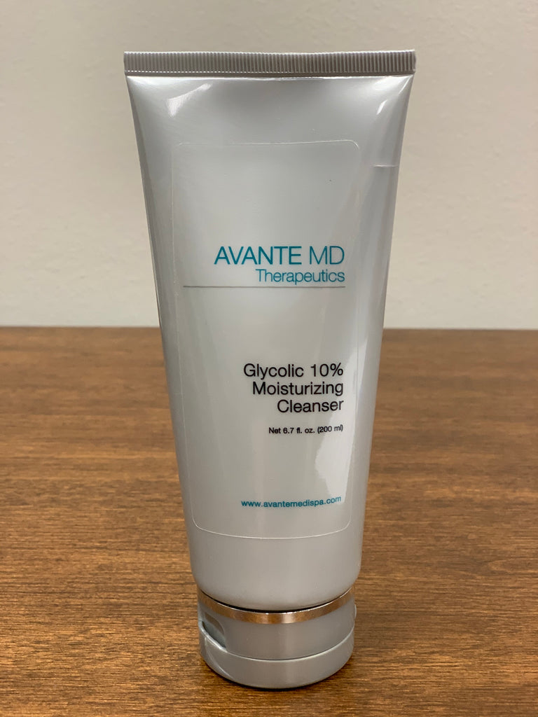 Glycolic 10% Moist Cleanser - Avante The Woodlands
