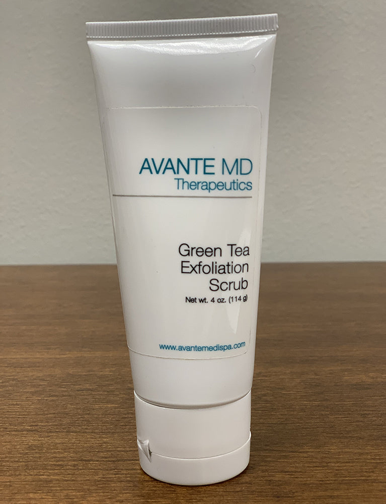 Green Tea Exfoliation Scrub - Avante The Woodlands