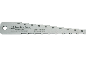 BT-1038TPE Pocket Tech Gauge, Labeled in Percentages