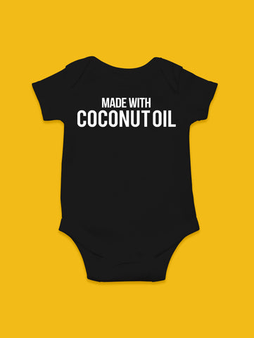 Made with Coconut Oil Onesie
