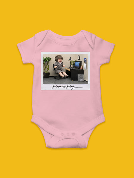 Business Baby Onesie