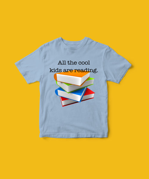 Cool Kids Read tee