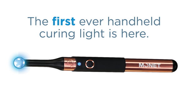 Monet - handheld curing light