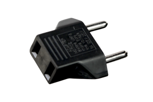 Universal Plug Adapter USA to EU. Compatible with all Picasso line lasers.