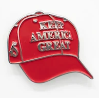 2020 Donald Trump - KEEP AMERICA GREAT 45 Lapel Pin